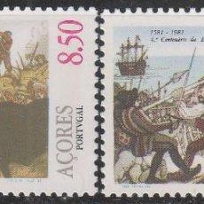 Sellos: AZORES IVERT Nº 332/3, 4º CENTENARIO DE LA BATALLA DE SALGA, NUEVO ***. Lote 59165910