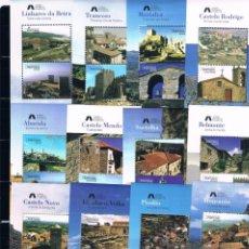 Sellos: PORTUGAL. AÑO 2005. HOJAS BLOQUES PUEBLOS HISTÓRICOS. VALOR 36 EUROS. Lote 60914983