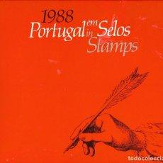 Sellos: PORTUGAL EM SELOS. PORTUGAL IN STAMPS. CORREIOS E TELECOMUNICAÇOES DE PORTUGAL, LISBOA, 1988. Lote 61656028