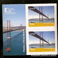 Sellos: PORTUGAL ** & PUENTES Y OBRAS DE ARTE 2016 (5677). Lote 64315423