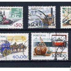 Sellos: SERIE USADA DE PORTUGAL 1979, YT 1408/ 12. Lote 69861537