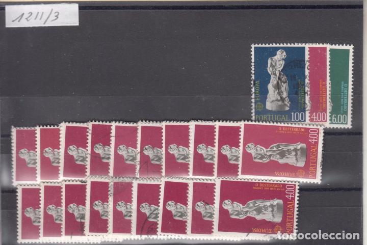 PORTUGAL 1211/3 LOTE DE 20 SERIES USADA, TEMA EUROPA 1974 (Sellos - Extranjero - Europa - Portugal)