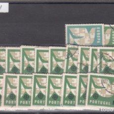 Sellos: PORTUGAL 929/31 LOTE DE 20 SERIES USADA, TEMA EUROPA 1963. Lote 83797732