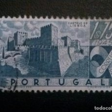 Sellos: PORTUGAL , YVERT Nº 680 , CASTILLOS , 1946. Lote 86150420