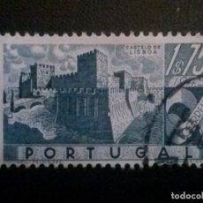 Sellos: PORTUGAL , YVERT Nº 680 , CASTILLOS , 1946. Lote 86150580