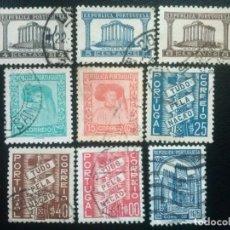 Sellos: PORTUGAL , YVERT Nº 576 - 584 , 1935-36 , SERIE COMPLETA. Lote 86177448