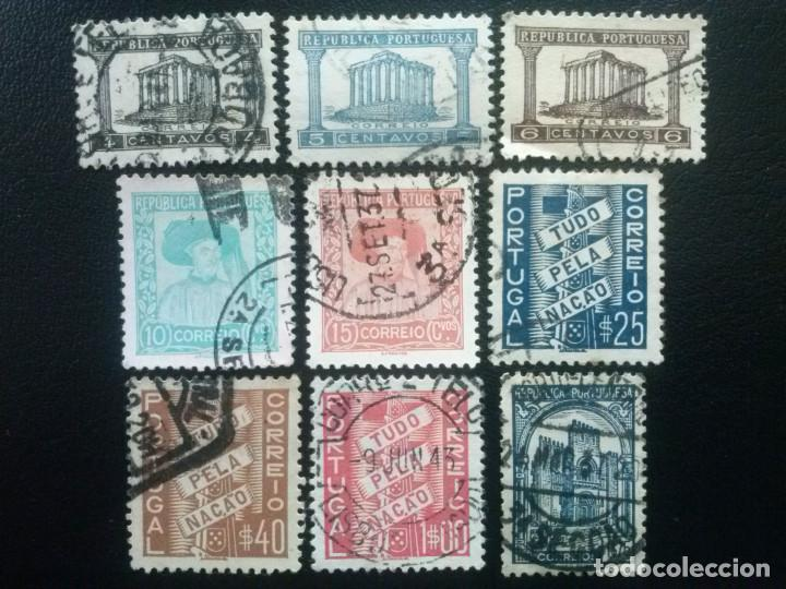 PORTUGAL , YVERT Nº 576 - 584 , 1935-36 , SERIE COMPLETA (Sellos - Extranjero - Europa - Portugal)