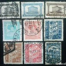 Sellos: PORTUGAL , YVERT Nº 576 - 584 , 1935-36 , SERIE COMPLETA. Lote 86177564