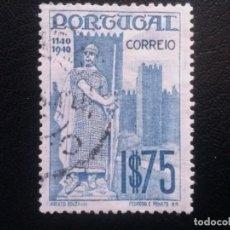 Sellos: PORTUGAL , YVERT Nº 615 , CASTILLOS , 1940. Lote 86177992