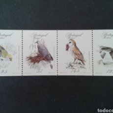 Sellos: MADEIRA. (PORTUGAL). YVERT 116A/9A. CARNET. SERIE COMPLETA NUEVA SIN CHARNELA. FAUNA. AVES.. Lote 88861891