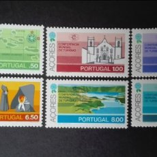 Sellos: PORTUGAL AZORES YVERT 325/30*** NUEVOS SIN FIJASELLOS SERIE COMPLETA CONFERENCIA MUNDIAL DEL TURISMO. Lote 90332540