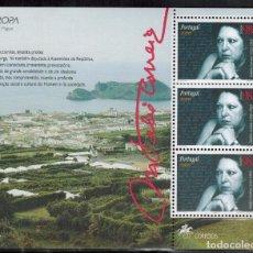 Sellos: HOJA BLOQUE DE PORTUGAL - AZORES AÑO 1996. Lote 91344580