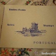 Sellos: CUADERNO CON 33 SELLOS PORTUGUESES. Lote 95684111