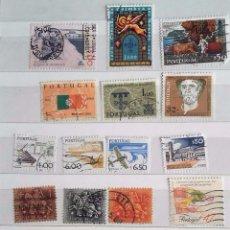 Sellos: PORTUGAL, LOTE DE 14 SELLOS DIFERENTES USADOS . Lote 95690915
