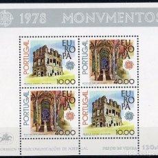 Sellos: PORTUGAL AÑO 1978 YV HB 23*** EUROPA - MONUMENTOS. Lote 97872463