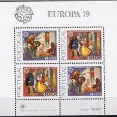 Sellos: PORTUGAL AÑO 1979 YV HB 27*** EUROPA - HISTORIA DEL CORREO POSTAL. Lote 97873139