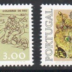 Sellos: PORTUGAL AÑO 1976 YV 1291/92*** EUROPA - ARTESANIA - ARTE. Lote 97876571