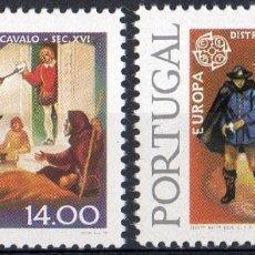 Sellos: PORTUGAL AÑO 1979 YV 1421/22*** EUROPA - HISTORIA DEL CORREO POSTAL . Lote 97877863