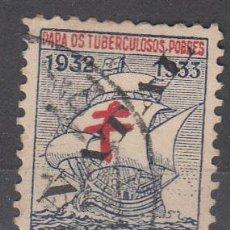 Sellos: PORTUGAL. VIÑETA PARA LOS TUBERCULOSOS POBRES. A.N.T. 1932-1933. BARCOS. Lote 101008847