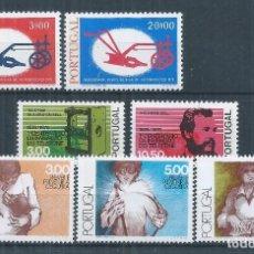 Sellos: R25/ PORTUGAL, LOTE FICHA CON 3 SERIES, CATALOGO 18,00, MNH **. Lote 102948827