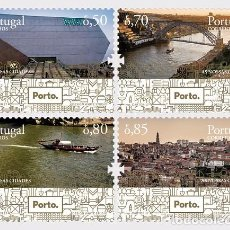 Sellos: PORTUGAL 2017 - PORTO - OUR CITIES - SET MNH. Lote 110247648