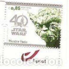 Sellos: PORTUGAL & 40 ANOS STAR WARS, ANIVERSÁRIO, STARWARS, MESTRE YODA 2017 (8689) . Lote 106572599