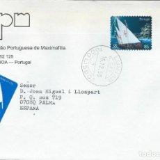 Sellos: 1998. PORTUGAL. SOBRE CIRCULADO CON SELLO EXPO'98. BARCO DE VELA. SHIPS. SAILBOATS.. Lote 109698455
