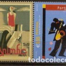 Sellos: PORTUGAL,EUROPA-CEPT,SERIE COMPLETA,NUEVA**,AÑO 2003.. Lote 110827131