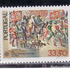 Sellos: PORTUGAL 1982 IVERT 1543 *** EUROPA - HECHOS HISTÓRICOS . Lote 111041399