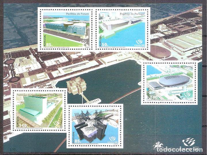 PORTUGAL,HOJITA BLOQUE,NUEVA**,AFINSA 1999. (Sellos - Extranjero - Europa - Portugal)