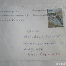 Sellos: CARTA DE PORTUGAL,FAUNA,AGUIA PESQUEIRA. Lote 112835971