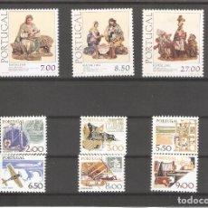 Sellos: SELLOS DE PORTUGAL SIN USAR SERIES COMPLETAS EN NUEVO 028. Lote 113617887