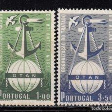 Sellos: PORTUGAL , 1956 YVERT Nº 760 / 761 ( * ) . Lote 113988767