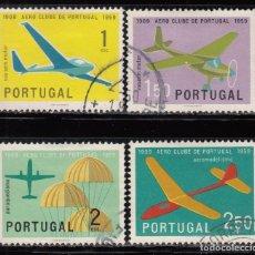 Sellos: PORTUGAL , YVERT Nº 864 / 867 , AVIONES . Lote 114017667
