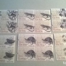 Sellos: PORTUGAL 2009-200TH ANN OF DARWIN - BLOQUE DE 4. Lote 115247187