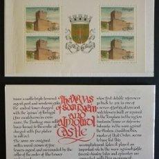 Sellos: SELLOS PORTUGAL 1988** CASTILLOS 17 CARNETS. Lote 115265211