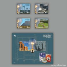 Stamps - Portugal ** & La electricidad en Portugal 2018 (6859) - 115645211