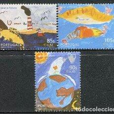Sellos: PORTUGAL - ESTAMPANDO EL FUTURO (2001) **. Lote 115675751