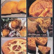 Sellos: PORTUGAL - DULCES TRADICIONALES (2000) **. Lote 115680675