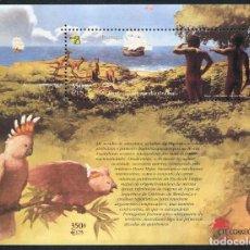 Sellos: PORTUGAL - EXPOSICION FILATELICA INTERNACIONAL AUSTRALIA'99 - HB (1999) **. Lote 115683911