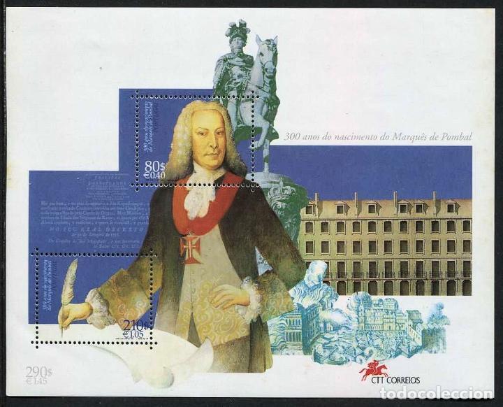 PORTUGAL - 300 AÑOS NACIMIENTO DEL MARQUES DE POMBAL - HB (1999) ** (Sellos - Extranjero - Europa - Portugal)