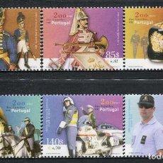 Sellos: PORTUGAL - 200 ANIV. POLICIA NACIONAL (2001) **. Lote 116441699