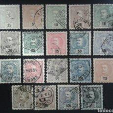 Sellos: PORTUGAL. YVERT 124/45. FALTAN 136, 142 Y 143. SERIE CORTA USADA.. Lote 116981050