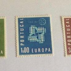 Sellos: SELLOS MANOS UNIDAD EUROPA DE PORTUGAL. Lote 118407707