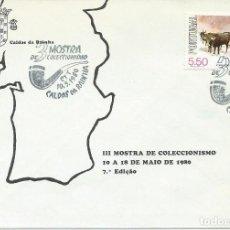 Sellos: AÑO 1980. CALDAS DA RAINHA. MATASELLOS. III MOSTRA DE COLECCIONISMO.. Lote 123998375