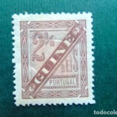 Sellos: GUINÉE PORTUGAISE GUINEA PORTUGESA 1893 - 94 CHIFFRE YVERT 34 * MH VER FOTOS. Lote 127172799