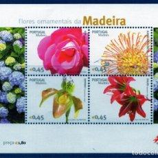 Sellos: PORTUGAL.- ISLA DE MADEIRA. HOJA BLOQUE AÑO 2006, EN NUEVA. Lote 131625046