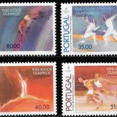 Sellos: PORTUGAL 1984. JUEGOS OLÍMPICOS LOS ÁNGELES ´84 YT 1614-17 NUEVO (MNH). Lote 132820298