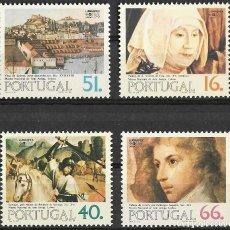 Sellos: PORTUGAL 1984. LUBRAPEX ´84. YT 1610-13 NUEVO (MNH). Lote 132824966