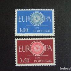 Sellos: PORTUGAL Nº YVERT 879/0*** AÑO 1960 EUROPA. Lote 133591830